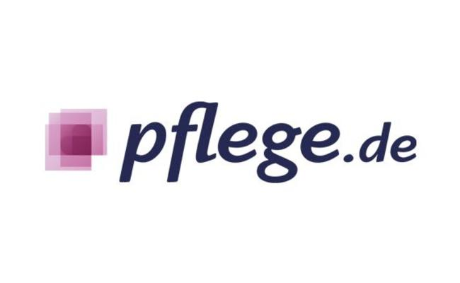 Das Logo von Pflege.de