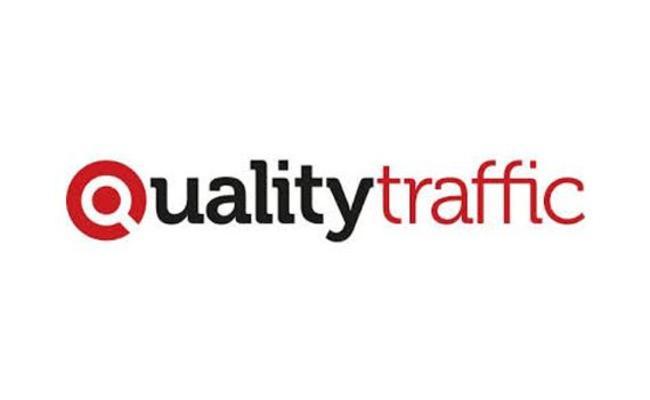 Das Logo von qualiytraffic
